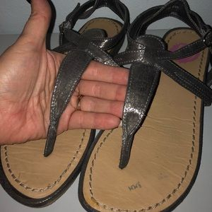 K9 From rocket Dog silver sandals
